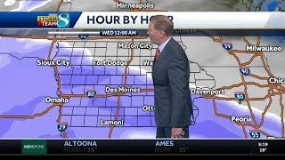 Tracking next system to bring snow to Iowa