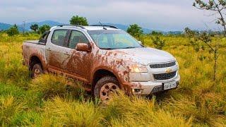 Teste - Chevrolet S10 2.5 Flex Cabine Dupla 2015 4x4 - Falando de Carro