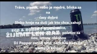 EGO ft. Robert Burian - Žijeme len raz + text/lyrics