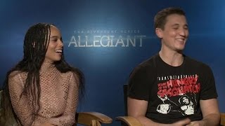 Miles Teller, Zoë Kravitz 'Divergent Series: Allegiant' Interview - Exclusive
