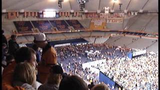 Moves Like Jagger bleeped at Carrier Dome