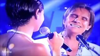 Sophie Charlotte faz dueto com Roberto Carlos 'Sua Estupidez'