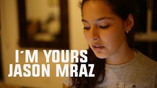 I´m yours - Jason Mraz  (Karaoke Version)-  Maria Valentina cover