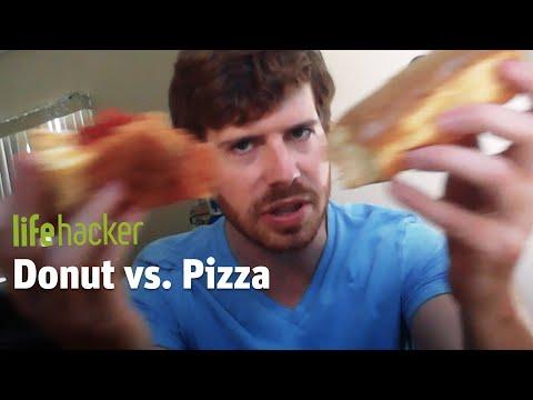 Donut Vs. Pizza