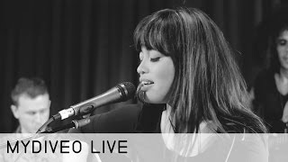 Melissa Polinar Geeks Out on Music - mydiveo Live! on Myx TV