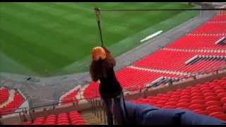 Cover Drive & Saracens stars on the zipwire at Wembley | FATV