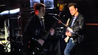 """""""Temple"""" Kings of Leon@Wells Fargo Center Philadelphia 2/19/14 Mechanical Bull Tour"""