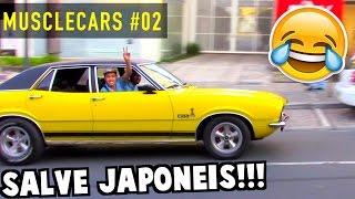 💪 MUSCLECARS #02 - Maverick V8, Charger 1969, Opala SS e Carros Antigos acelerando!