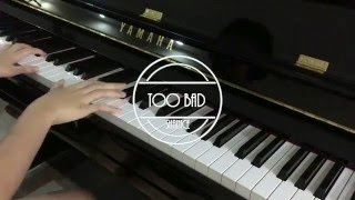 林俊傑 JJ Lin – Too Bad (Piano Cover by Shanice Teo)