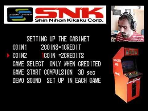 NEO GEO - | Software configuración placa AES | - 1992. SNK