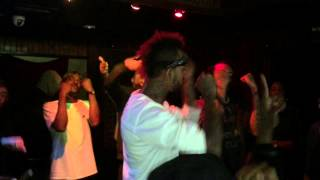 Tray Pizzy - My Borough (Live Performance at The Flat)
