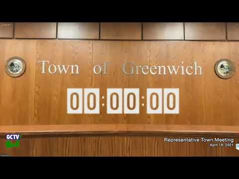 Representative Town Meeting, April 19, 2021