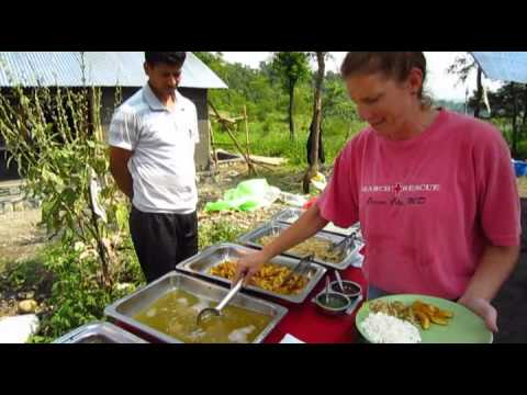 Global Village Team Nepal – Building with Bamboo & Team Interviews.flv
