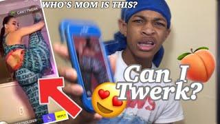 CAUGHT SOMEBOY MOM TWERKING ON MONKEY| CAN I TWERK ? | CAN I TWERK? | MONKEY VIDEO