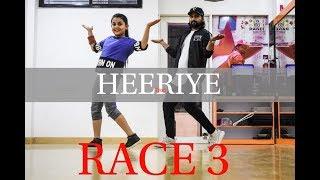 Heeriye - Race 3   Dance Choreography BY Vijay Akodiya Aka V.j   