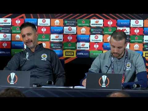 #CANLI Fenerbahçe - Olympiakos karşılaşması sonrası teknik direktörler açıklamalarda bulunuyor