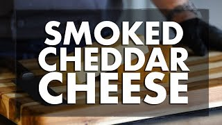 Smoked Cheddar Cheese with Chef Greg | REC TEC Grills