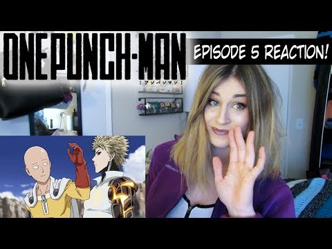 one punch man episode 5 the ultimate master reaction youtube