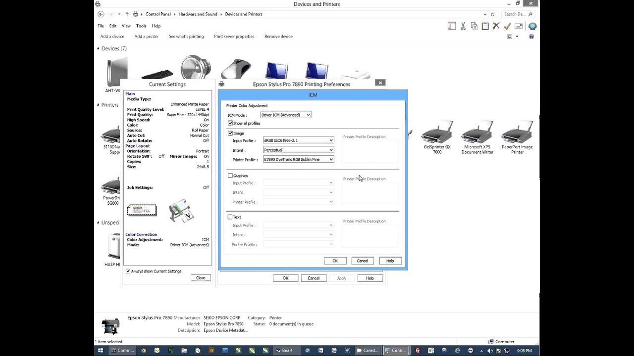 Sublimation Printer Epson® SureColor F7200, 64