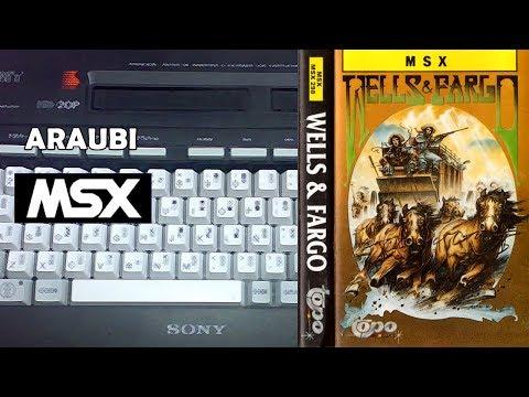 Wells & Fargo (Topo Soft, 1988) MSX [667] Walkthrough Comentado