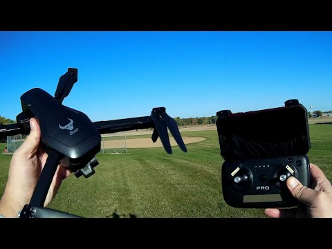 ZLRC SG906 Pro2 Three Axis Gimbal Drone Flight Test Review