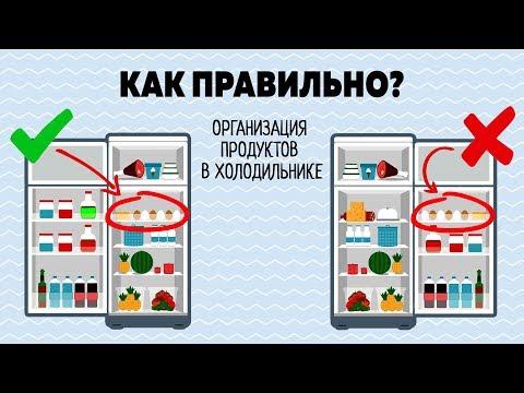 Как ПРАВИЛЬНО Хранить ПРОДУКТЫ в ХОЛОДИЛЬНИКЕ! Что в МОЕМ Холодильнике?