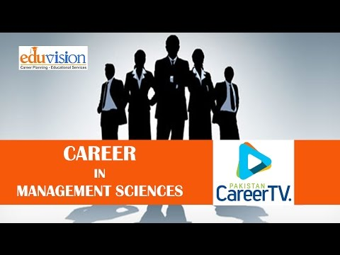 Career in Management Sciences