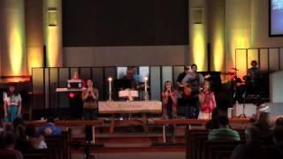 """At the Cross"" Chris Tomlin (cover) - TUMCworship Band"