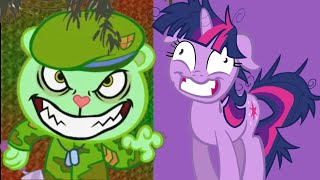 (FULL HTF and PMV) - Flippy and Twilight - Monster Skillet