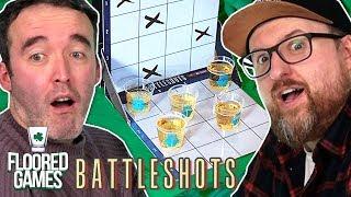 BATTLESHOTS - Irish People Try Battleshots | Floored Games