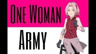 Sakura AMV - One Woman Army