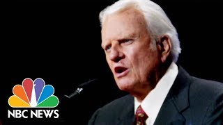 Billy Graham's funeral procession winds through small mountain towns in North Carolina