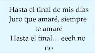 David Bisbal - Hasta el Final