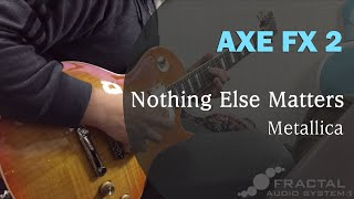 Metallica - Nothing Else Matters guitar solo