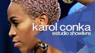 """Karol Conka em """"Vô lá"""" no Estúdio Showlivre 2013"""