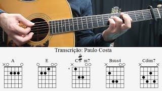 Agir - Tempo é dinheiro, Lição de Guitarra, Acordes, Cifra, Tutorial, Como tocar