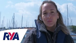 Monday Motivation Top Tips - Zara Roberts RYA Yachtmaster of the Year