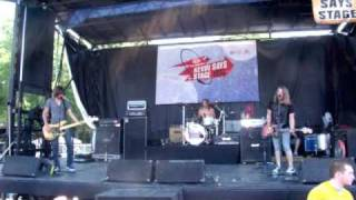 Drowning Scarlett live at warped song: Patient Lee