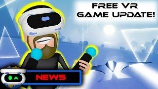 PSVR News! Free VR Mode Game Update! Farpoint Story Trailer. Next Week PSVR Releases.