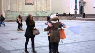 Think Positive - Free Hugs LITHUANIA