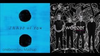 Shape of Beverly - Ed Sheeran vs. Weezer (Mashup)