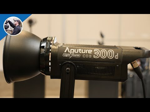 NAB 2017: Aputure COB 300d - An LED Lighting BEAST!