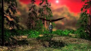 Forest Eagle Hunter - after effects & Element 3d