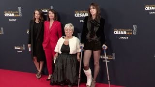 Mimie Mathy, Charlotte Gainsbourg and more on the red carpet for the Cesar 2020 Ceremony in Paris