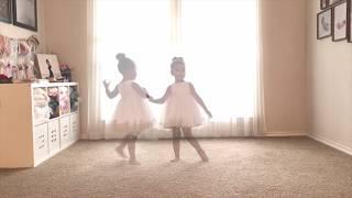 Rainbow - Liz Huett - 3-years-old ballerina dance
