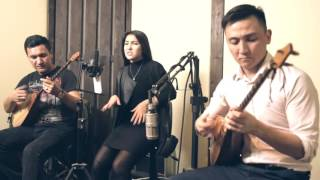 Kadebostany castle in the snow dombyra cover by Made in KZ