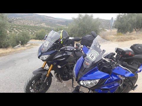 Motosx1000: Rider Andalucía con las Yamaha Tracer 700 y 900 .- Día 1-.