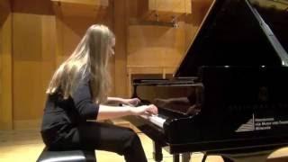 Kristina Miller plays Rimsky-Korsakov - G.Cziffra 'Flight of a Bumble-Bee'