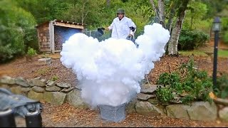 What Happens If You Pour Boiled Water into Liquid Nitrogen?