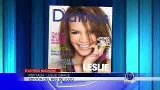 Leslie Grace Portada del mes de Julio en D'Latinos Magazine